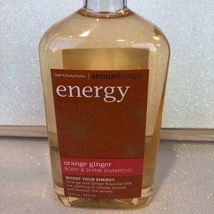 BBW Aromatherapy Energy Orange & Ginger Shampoo